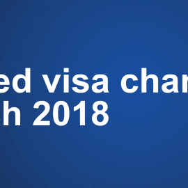 New Employer Sponsorship Visa Program (Temporary and Permanent) from 18 March 2018